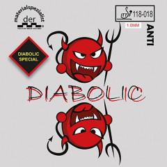 Der Materialspezialist Belag Diabolic Special