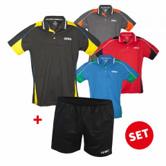 GEWO Set Hemd Leon + Short Lagon